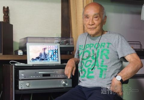 谷川俊太郎さん、ガジェットオタクだった。