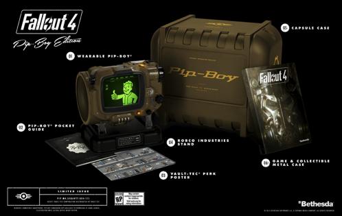 Fallout4、コレクター向けに「Pip-Boyエディション」を今冬発売。日本語版は字幕、音声ともにローカライズ。
