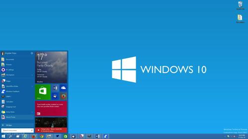 Windows10の無償アップグレード始まる。