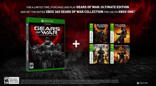 Gears of War: Ultimate Edition 海外で発売。